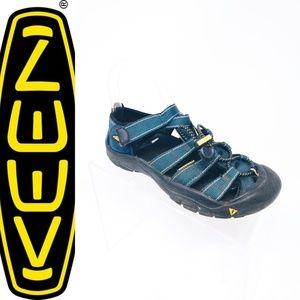 Keen Newport H2 Boys Sport Sandal Shoes Navy Blue